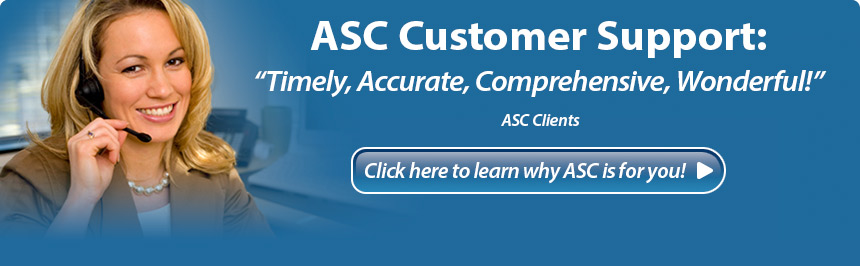 asc customer support