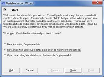 variable import wizard