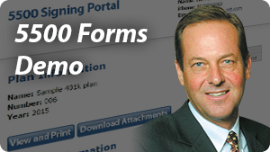 5500 Forms Demo